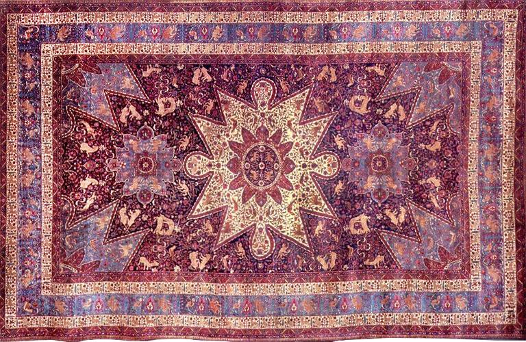 антикварные ковры гобелены шпалера